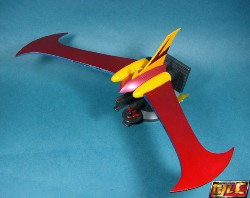 Mazinger Z Jet Scrander DX SOC Review by Gold