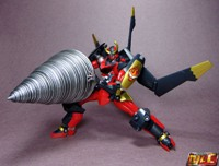 Super Robot Chogokin Gurren Lagann, Might Gain, and Planet X PX-01 Genessis Reviews!