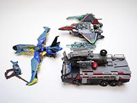 Transformers Misc Lot of 3 Sentenel Prime Soundwave