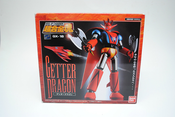 Bandai GX-18 Getter Dragon 1