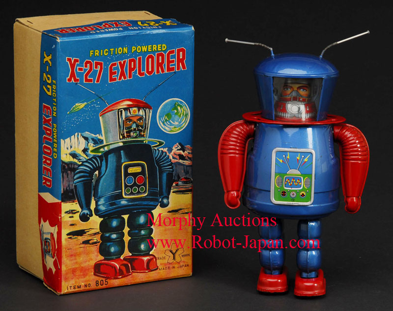 X-27Explorer-tin-robot